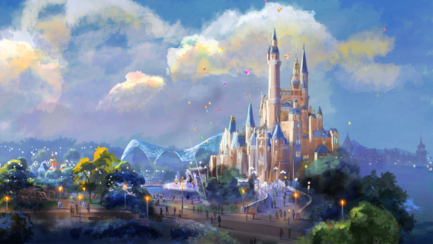 Enchanted Storybook Castle - Shanghai Disney Resort