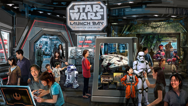Star Wars Launch Bay ใน Tomorrowland - Shanghai Disney Resort