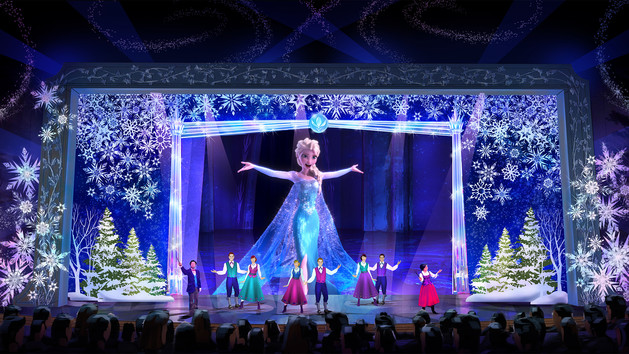 Frozen: A Sing-Along Celebration ใน Fantasyland - Shanghai Disney Resort