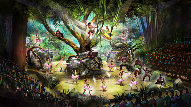 Tarzan: Call of the Jungle ใน Adventure Isle - Shanghai Disney Resort