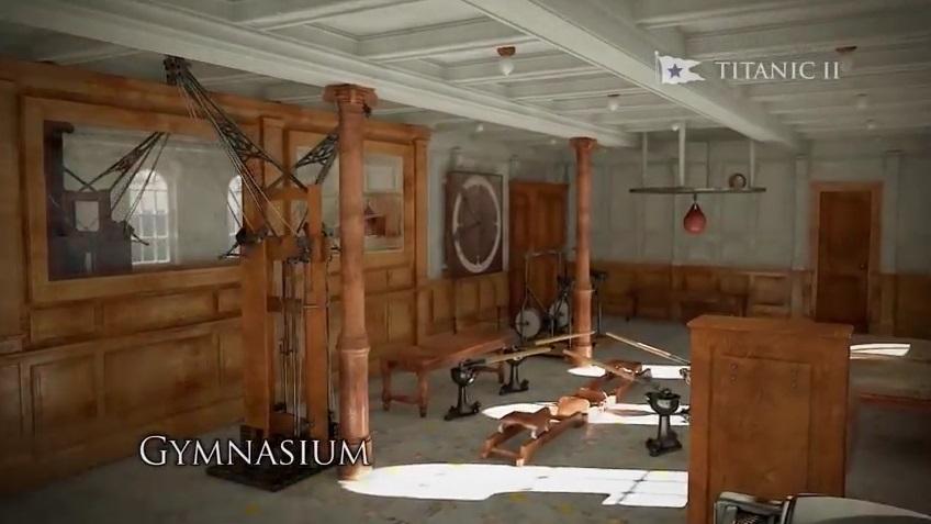 ยิม-ฟิตเนสในเรือไททานิค 2