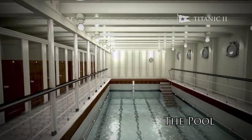 สระว่ายน้ำในเรือไททานิค 2