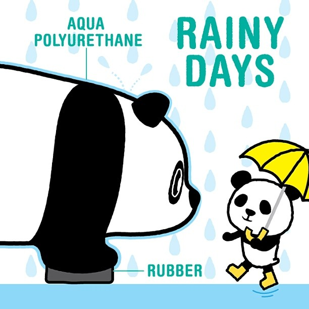 1600 Pandas Rainy Days