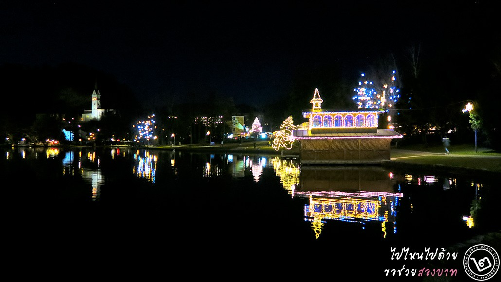 ริมทะเลสาบเบลด (Bled) สโลวีเนีย