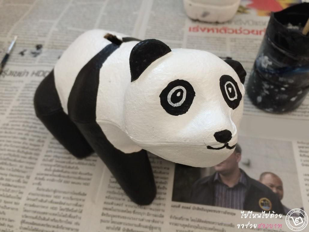 painting panda 1600pandas