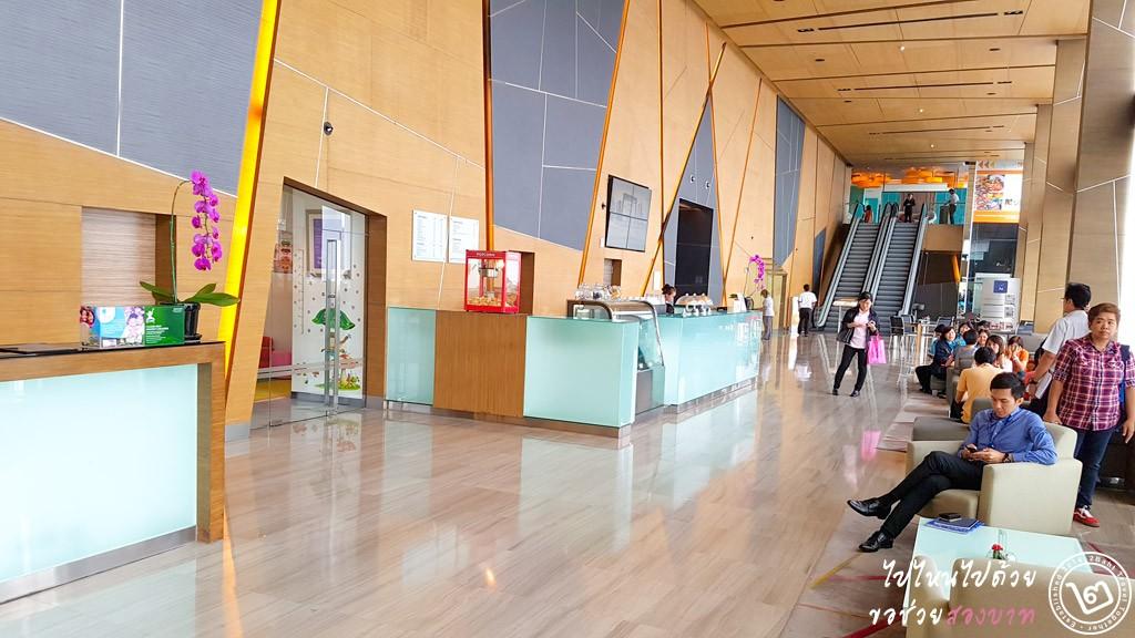 Lobby โรงแรม Novotel Bangkok Impact