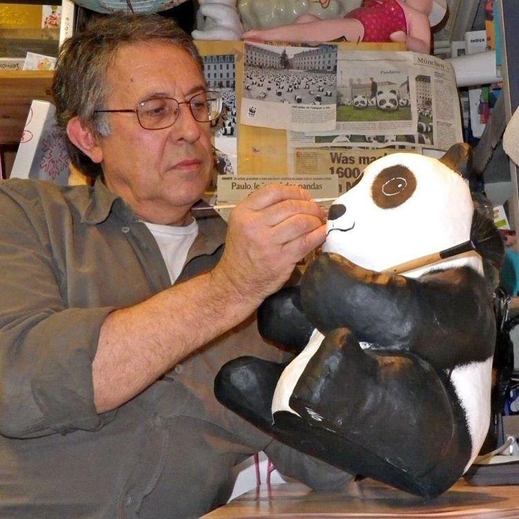 ศิลปินชาวฝรั่งเศส Paulo Grangeon (เปาโล กรองจีอง) บิดาแห่ง 1600 Pandas