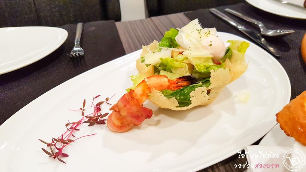 Classic Caesar Salad by Prego Trattoria