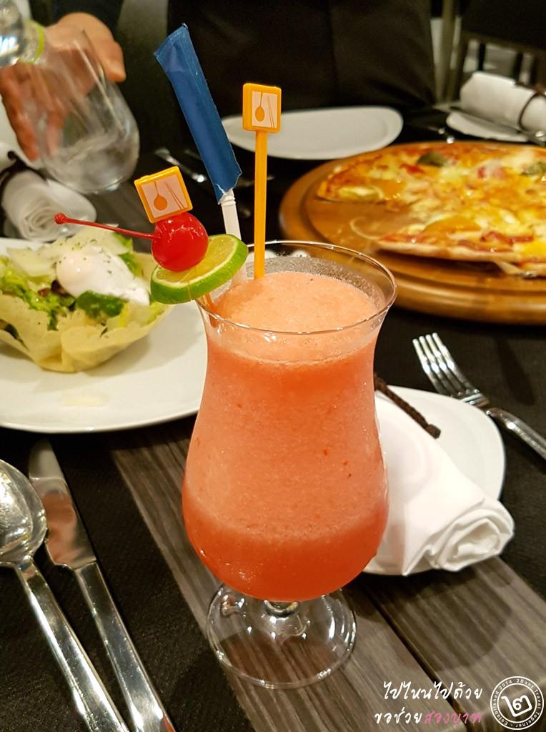 Inbalance Mocktail by Prego Trattoria