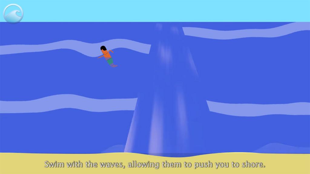วิธีการเอาตัวรอดจาก Rip Current (คลื่นทะเลดูด ร่องน้ำวน คลื่นรูปเห็ด)