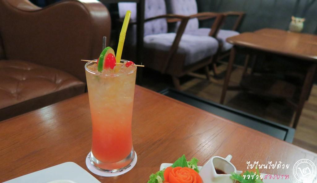 Mocktail - ร้าน The Owl Restaurant and Bar ลาดพร้าว