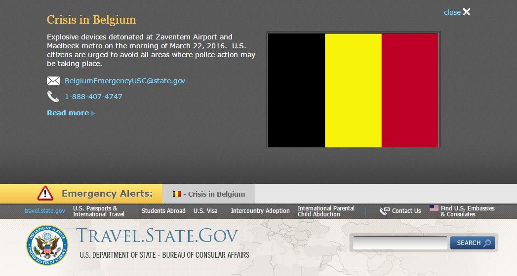 ข้อมูลล่าสุดเรื่องสถานการณ์ความปลอดภัยของเบลเยียม
