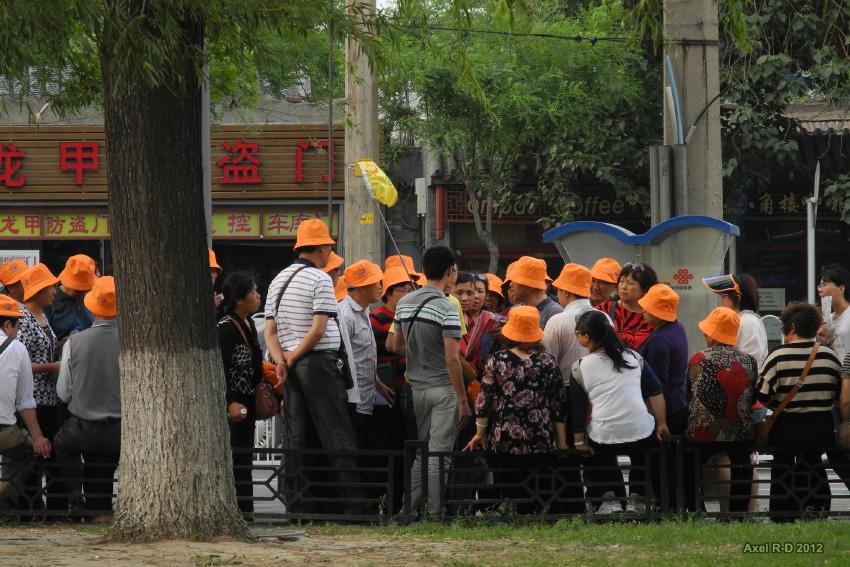 นักท่องเที่ยวจีน ภาพโดย Axel Drainville / Flickr / Creative Commons