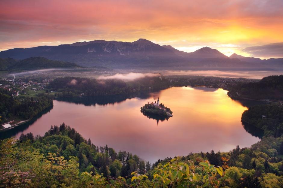 ภาพจาก Bled Tourism