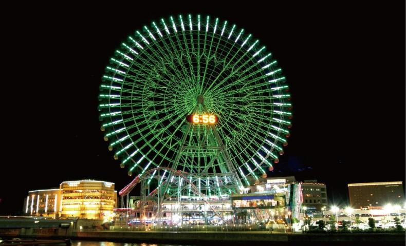 สวนสนุก Yokohama Cosmoworld (ภาพจากการท่องเที่ยวโยโกฮามา)