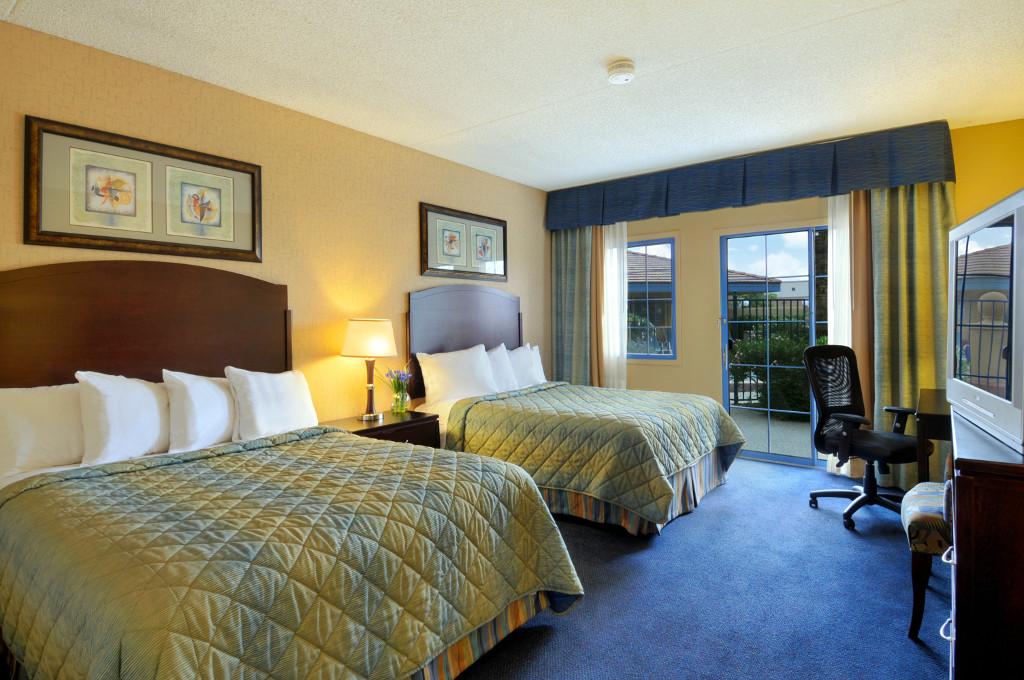 ภาพตัวอย่างห้องพักของ Days Inn ในสหรัฐอเมริกา