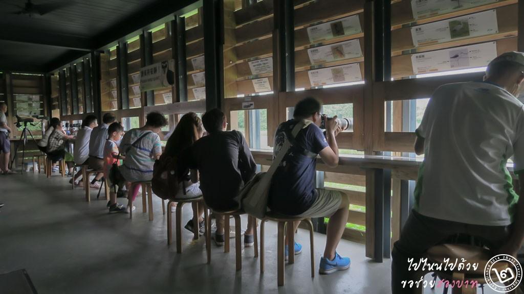 หอดูนก Hong Kong Wetland Park