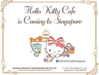 Hello Kitty Orchid Garden ที่ Arrival Hall, Terminal 3 สนามบิน Changi สิงคโปร์