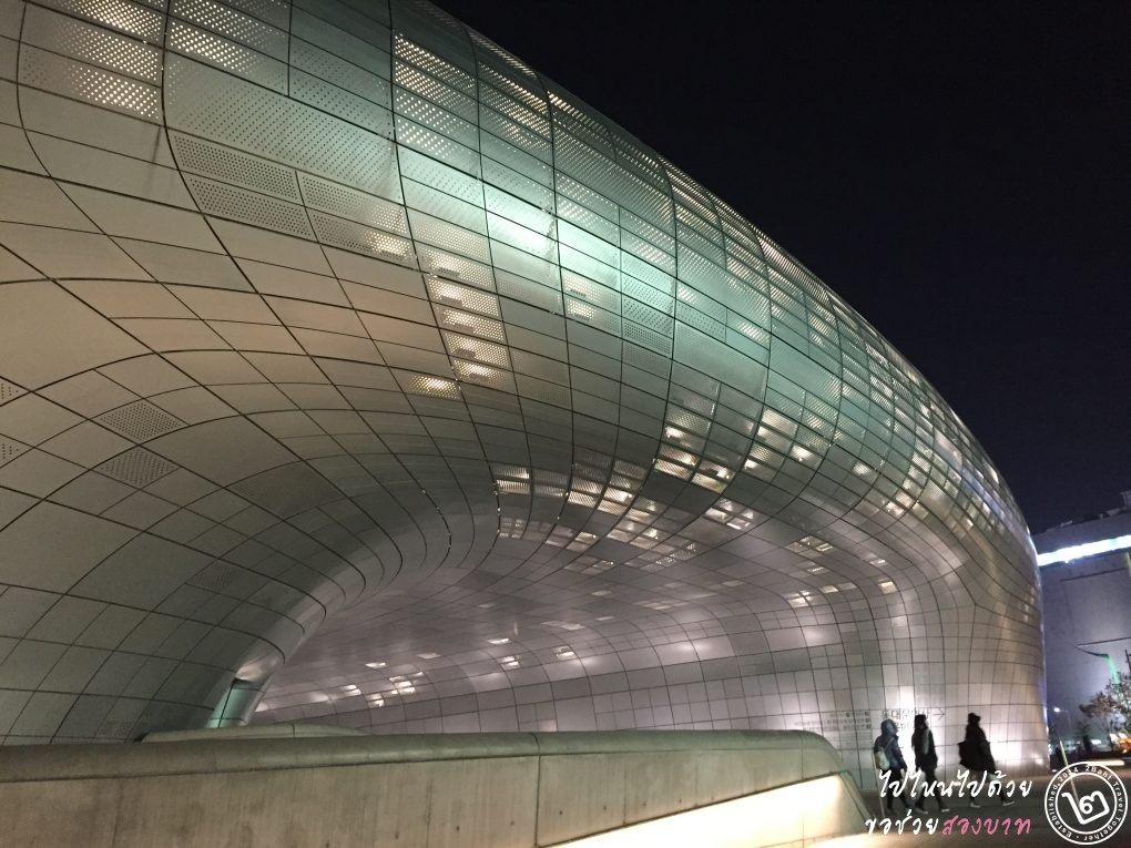 Dongdaemun Design Plaza DDP night