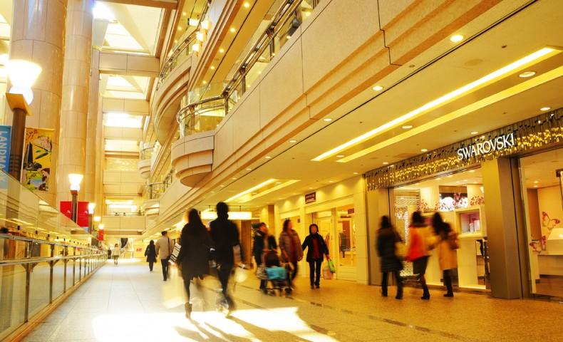 ห้างสรรพสินค้า Yokohama Landmark Plaza (ภาพจากการท่องเที่ยวโยโกฮามา)