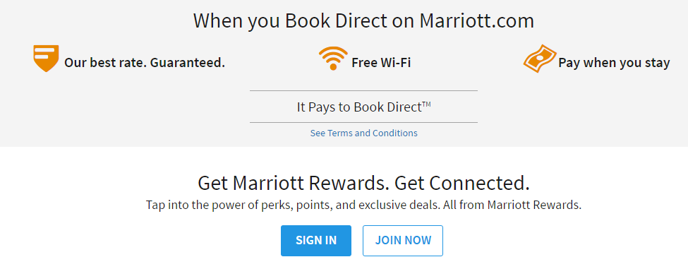 Marriott Book Direct
