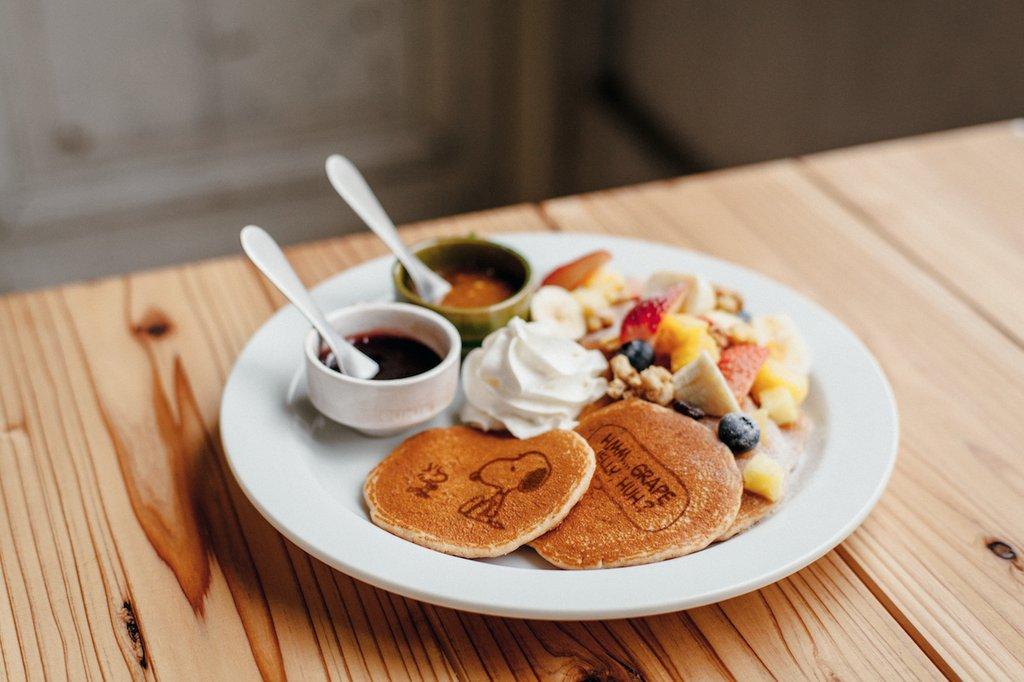 ตัวอย่างอาหาร Cafe Blanket