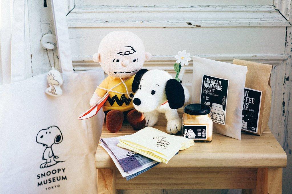 ตัวอย่างของที่ระลึก Snoopy Museum