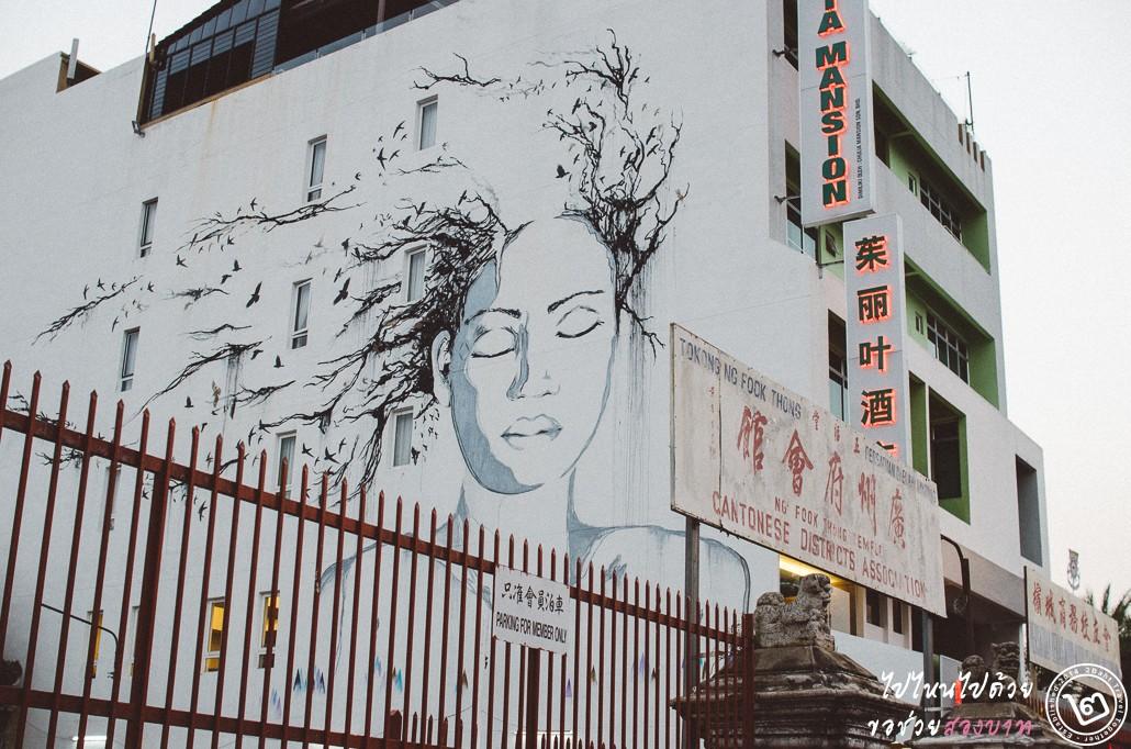 street art, ปีนัง, จอร์จทาวน์, Penang, George Town
