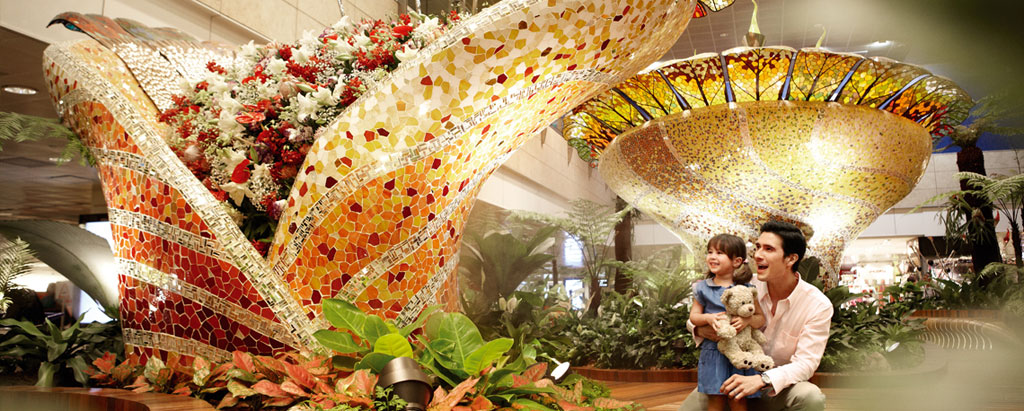 Enchanted Garden Terminal 2 ชั้น 2 สนามบินชางงี
