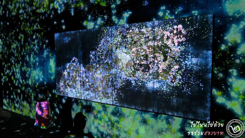 Flutter of Butterfies Beyond Borders - นิทรรศการ Future World ArtScience Museum สิงคโปร์