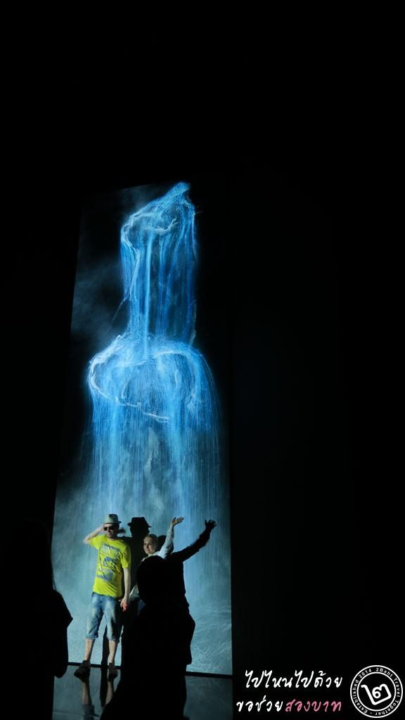Universe of Water Particles - นิทรรศการ Future World ArtScience Museum สิงคโปร์