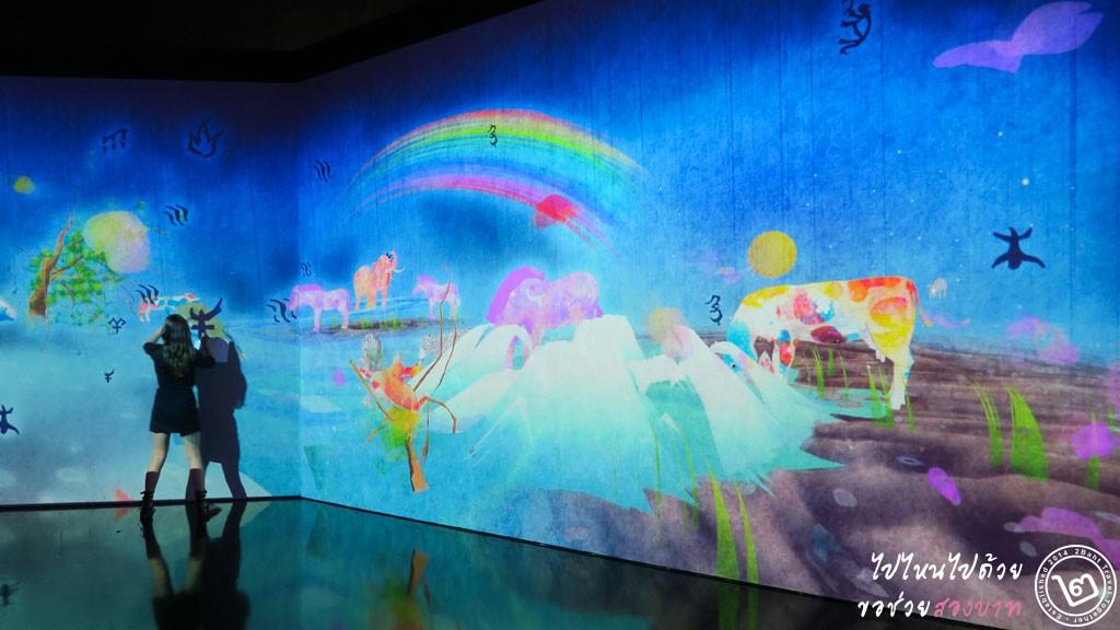 Story of the Time When Gods were Everywhere - นิทรรศการ Future World ArtScience Museum สิงคโปร์