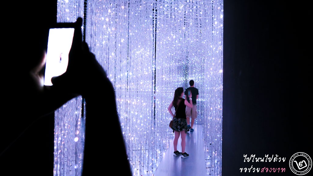 Crystal Universe - นิทรรศการ Future World ArtScience Museum สิงคโปร์