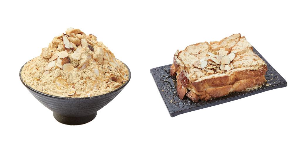 ซอลบิงอินจอลมี (Injeolmi Sulbing) และ โทสต์อินจอลมี (Injeolmi Toast)