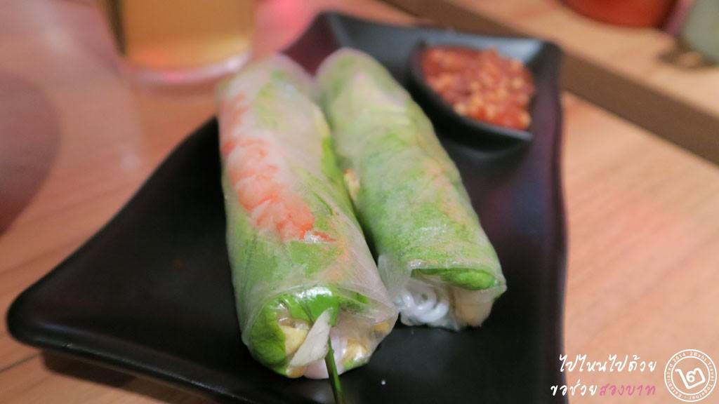 Spring Rolls - Nam Nam Vietname Restaurant, Raffles City, Singapore