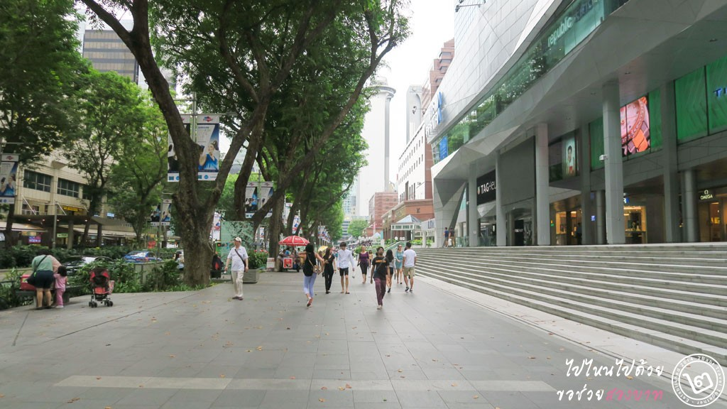 ถนนออชาร์ด สิงคโปร์ (Orchard Road Singapore)