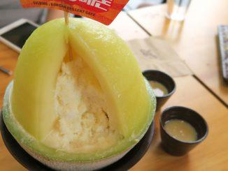 บิงซู ซอลบิงโยเกิร์ตเมล่อน Sulbing Yogurt Melon