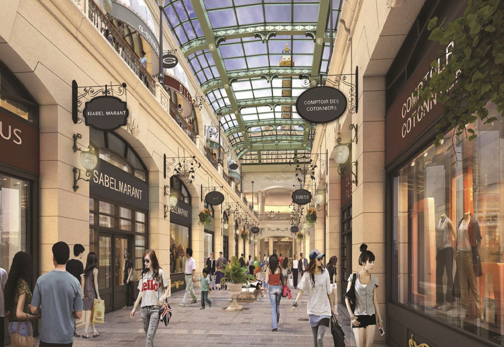 The Parisan Macao -Retail Experience