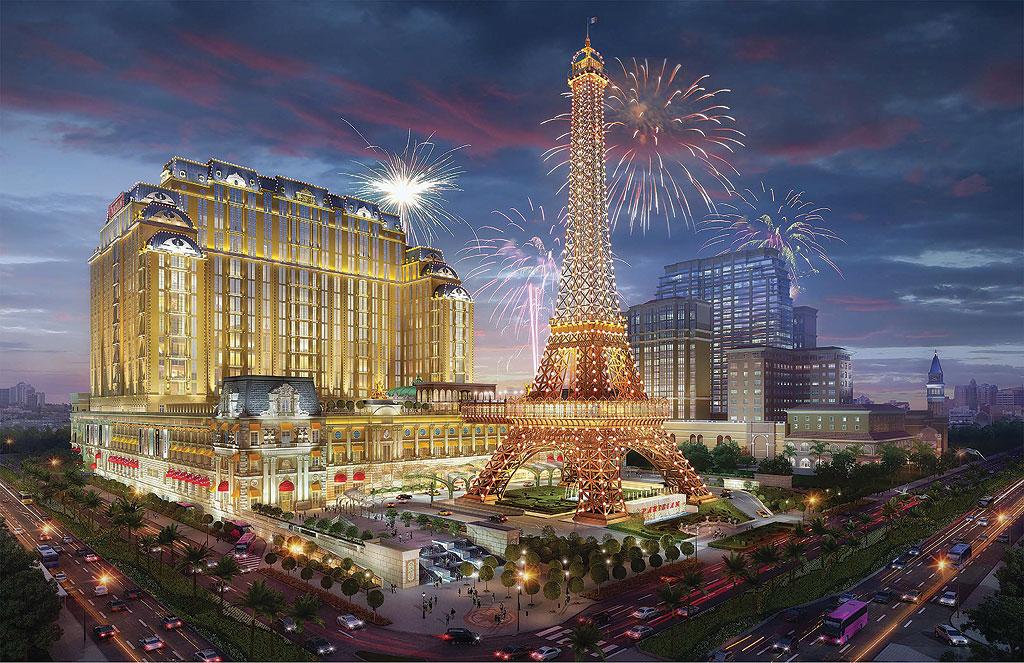 The Parisian Macao - Macau Eiffel Tower