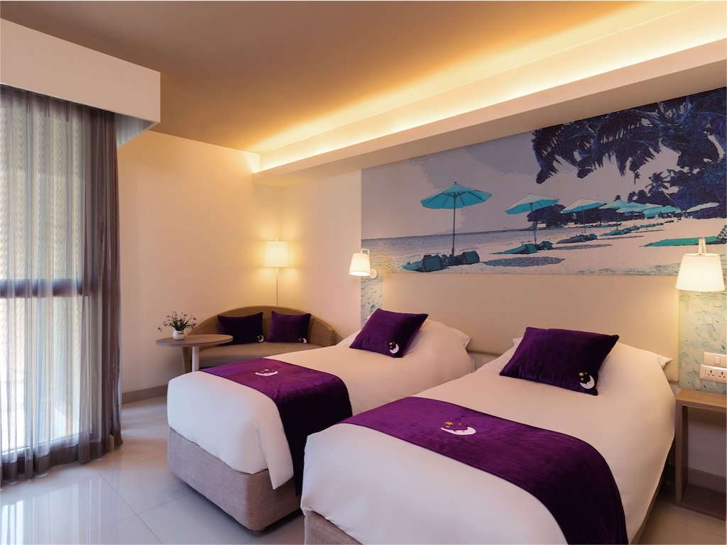 Premier Inn Pattaya ห้องพักแบบ Twin Room