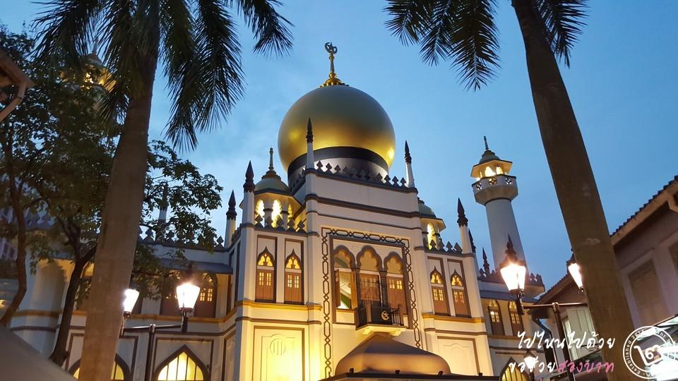 Arab Street Sultan Mosque