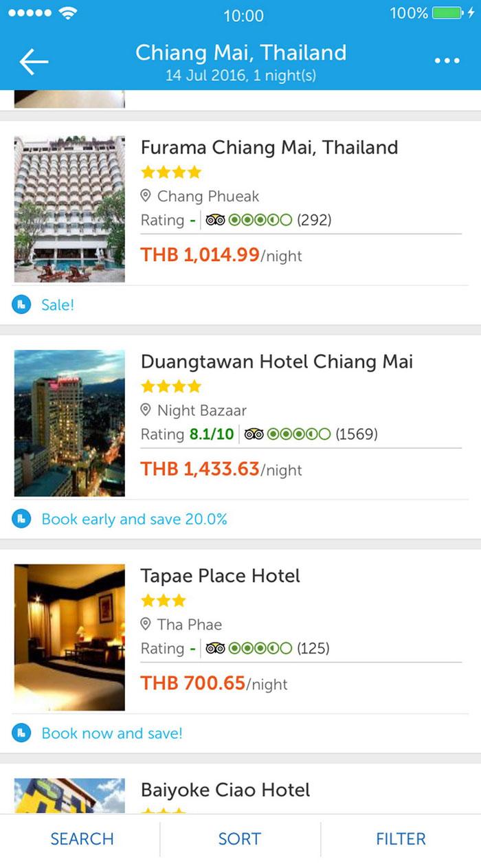 ขั้นตอนการจองโรงแรม ที่พัก ผ่าน Traveloka (ทราเวลโลก้า)