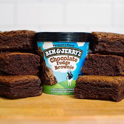 ไอศครีม Ben & Jerry's รส Chocolate Fudge Brown