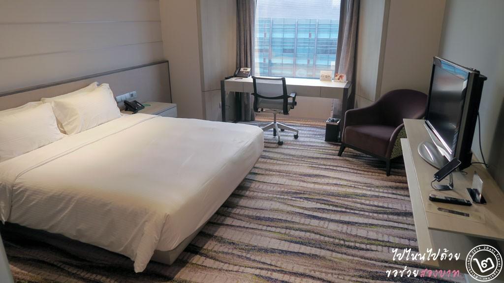 รีวิว โรงแรม Carlton ย่าน City Hall สิงคโปร์ - ห้อง Deluxe room