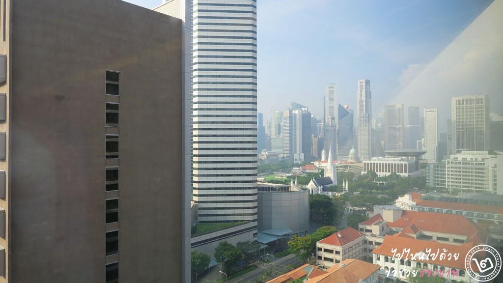 รีวิว โรงแรม Carlton ย่าน City Hall สิงคโปร์
