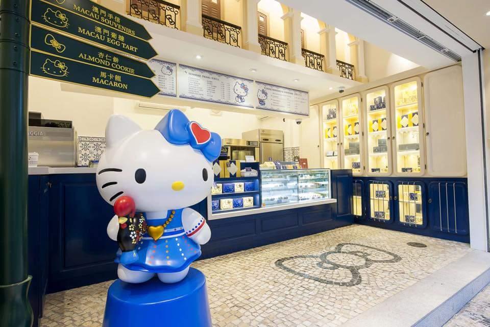 ร้าน Hello Kitty Obrigado มาเก๊า