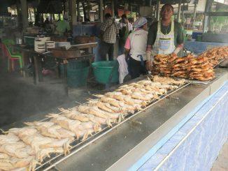 นิว ไก่ย่างบัวตอง วิเชียรบุรี เพชรบูรณ์