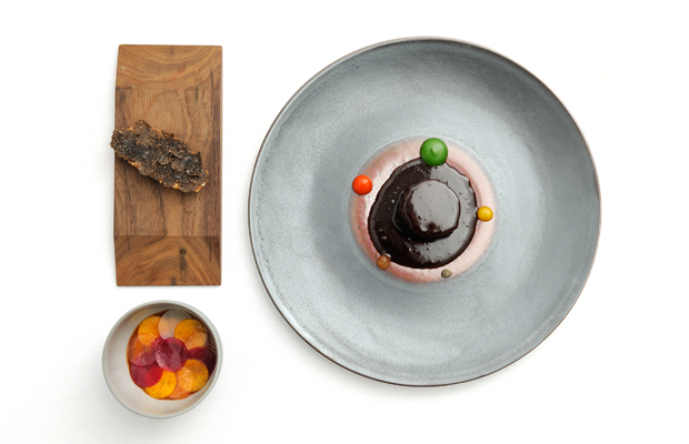 หน้าตาอาหารของร้าน Osteria Francescana