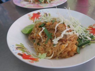 ผัดไทยหมู ร้านผัดไทย ท่ายาง จ.เพชรบุรี
