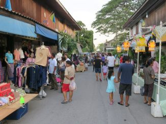 ถนนคนเดิน ตลาดเก่าปราณบุรี 200 ปี